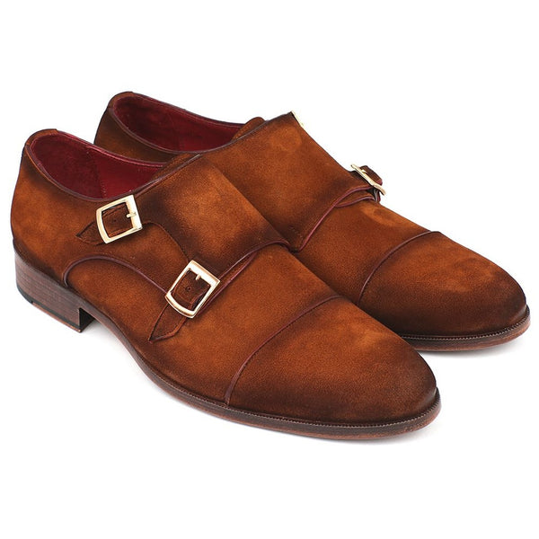 CENTURION SUEDE MONKSTRAP MEN'S DRESS SHOES - Gimmerton