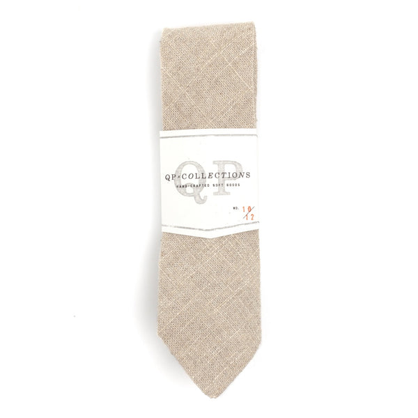 NON RISK TAKER MEN'S CASUAL LINEN NECKTIE - Gimmerton