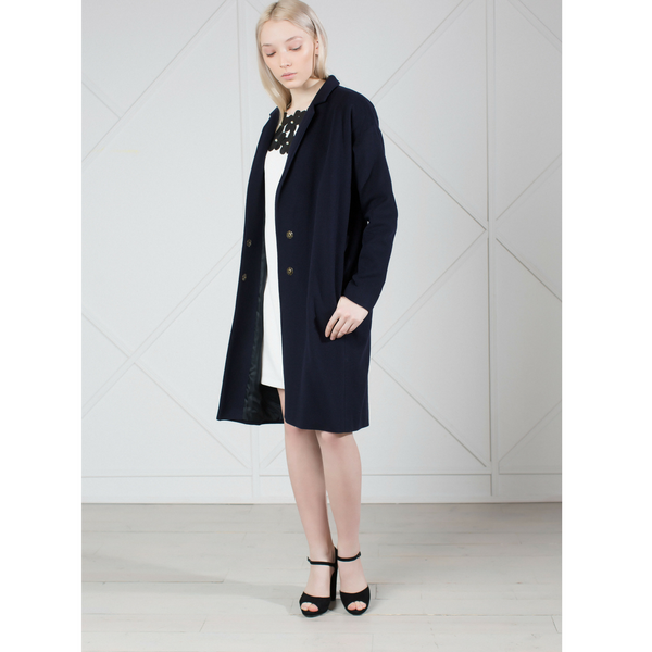 ELEGANCE IS MY FORTE WOOL CASHMERE-BLEND WOMEN'S COAT
