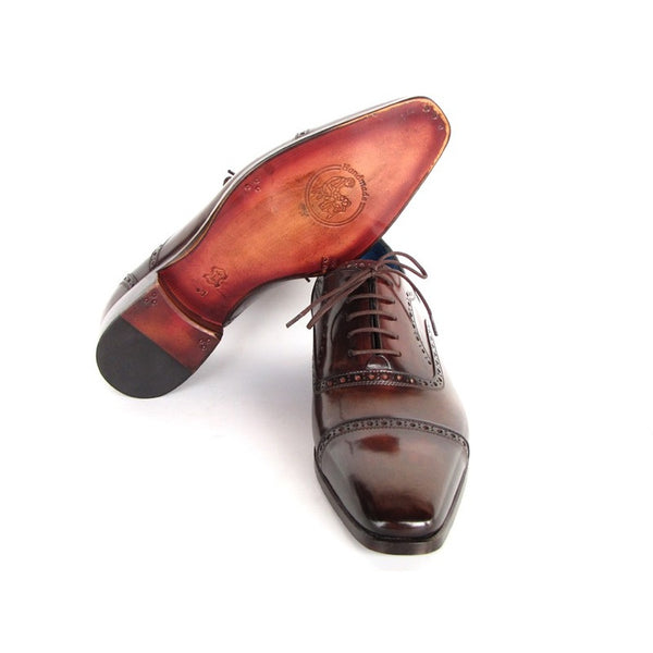 ALEXANDER POPE MEN'S CAPTOE OXFORDS - Gimmerton