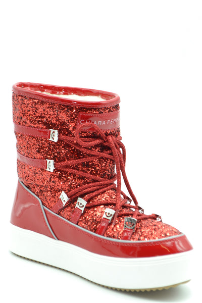 SNOW BUNNY RED WOMEN'S BOOTS