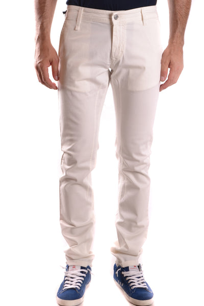 WISE GUISE WHITE MEN'S JEANS