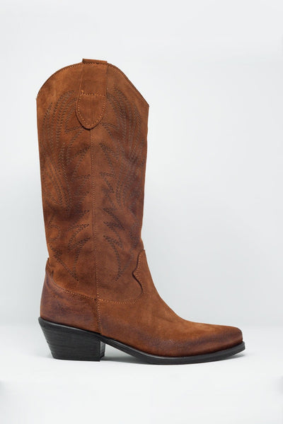 WEAVING THROUGH COUNTRY CROWDS WOMEN'S BOOTS