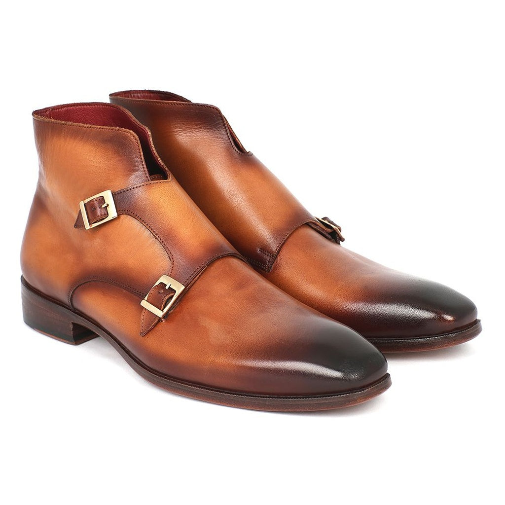 KING OF ARAGON DOUBLE MONKSTRAP BOOTS - Gimmerton