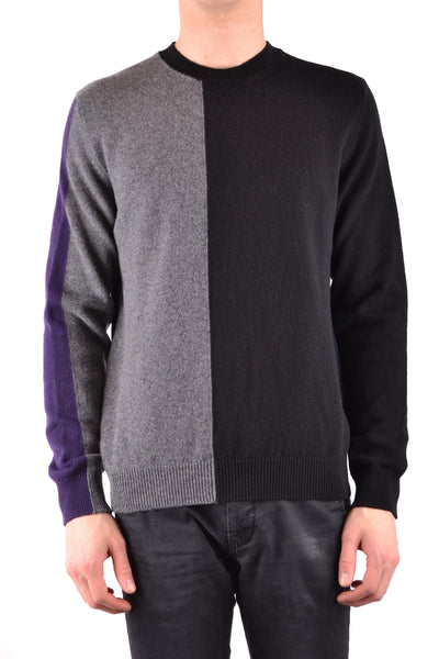 CONSCIOUSNESS BLACK & GREY MEN'S SWEATER