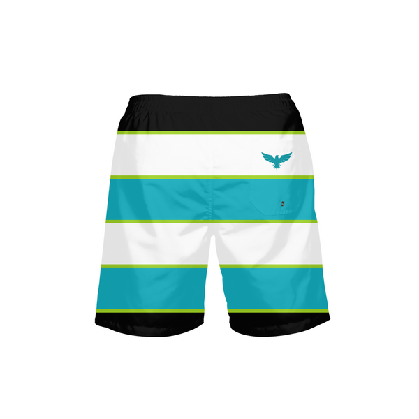 CASHED IN LOTTO STRIPED MEN'S SHORTS