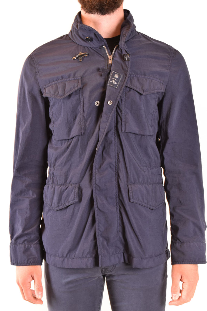 TRENDY FLY FISHER BLUE MEN'S JACKET