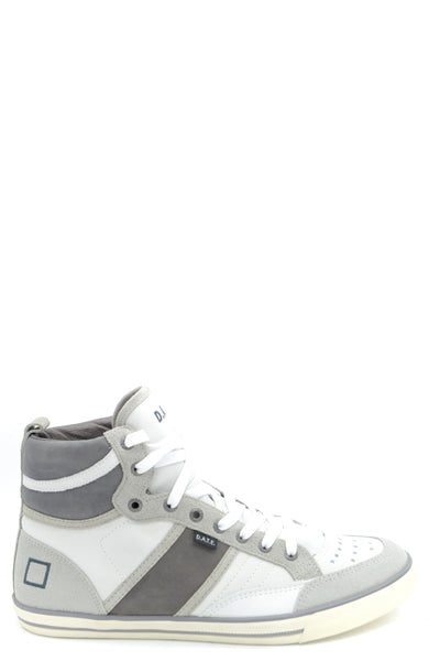 STREET CREDIT GREY HIGH TOP MEN'S SNEAKERS