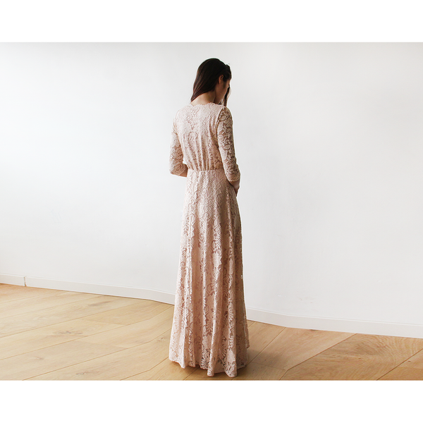 AMBIENCE LACE MAXI DRESS - Gimmerton