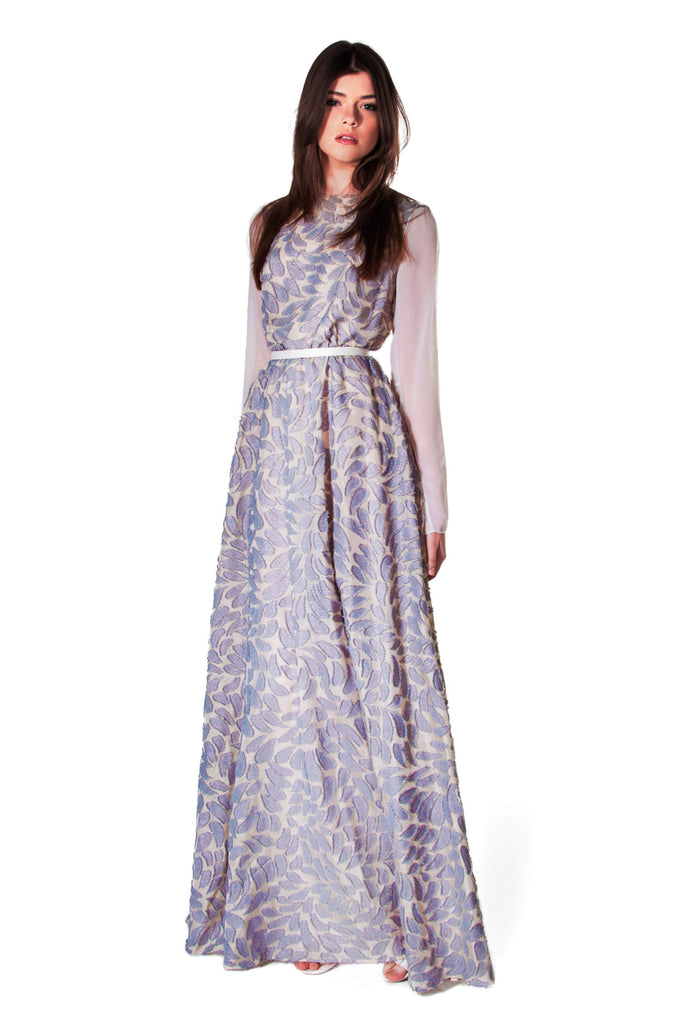 SECRETS NOT TO BE SHARED MAXI LONG DRESS