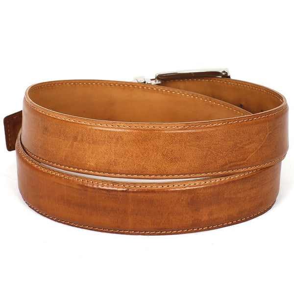 CLASSIC MAN BROWN LEATHER BELT - Gimmerton