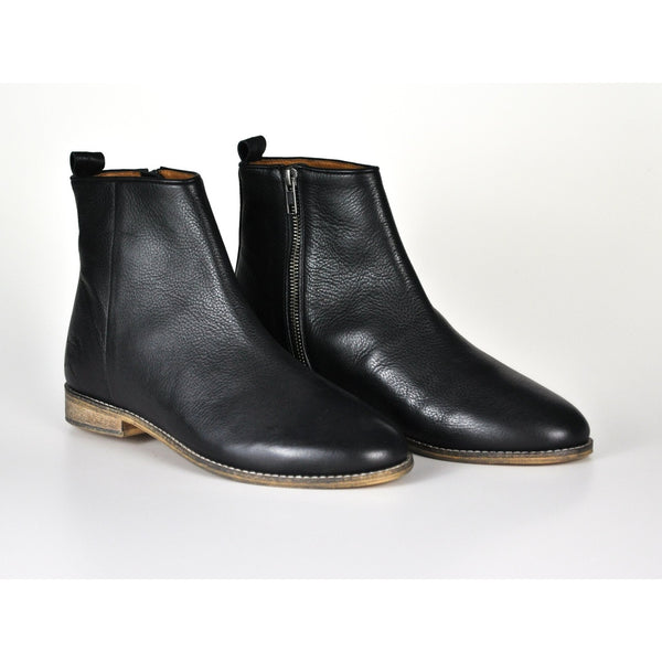 ROBIN HOOD MEN'S LEATHER ANKLE BOOTS