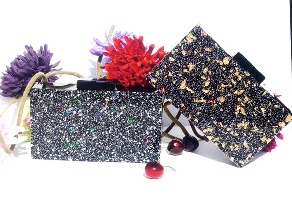 FANCY SHMANCY CLUTCH AND EVENING BAG
