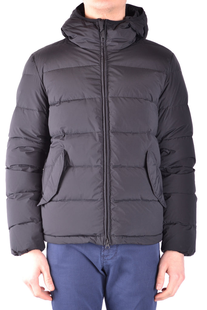 WINTER HOMIE BLACK MEN'S JACKET