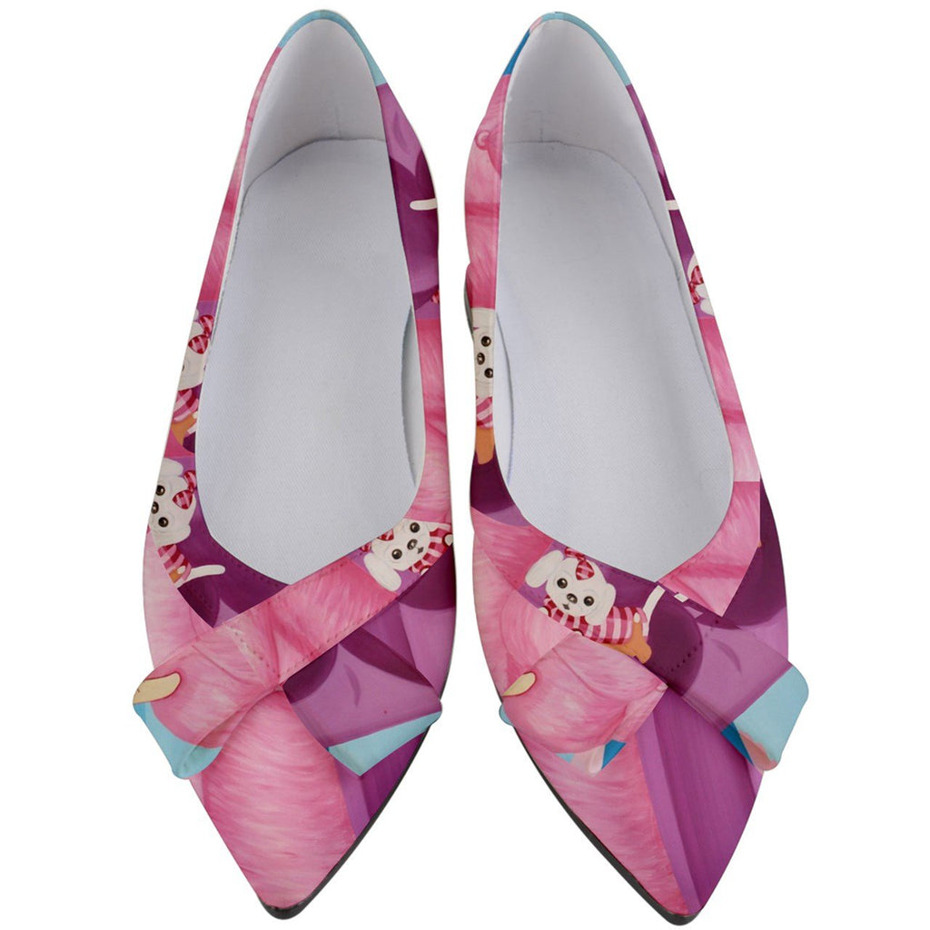 PANAMA CITY PINK WOMEN'S FLATS