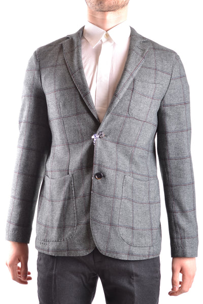 DINNER IN THE MOUNTAIN CABIN MEN'S BLAZER