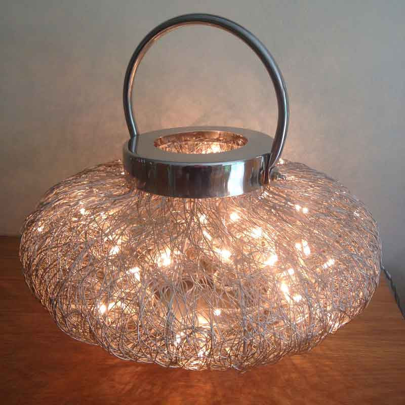 Wire Weave Lamps