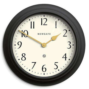 Newgate Westhampton Large Decorative Wall Clock in Classic Dark Grey - Duck Barn Interiors