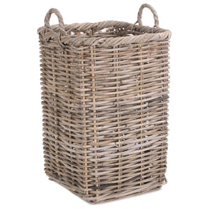 Square Rattan Umbrella Stand - Duck Barn Interiors