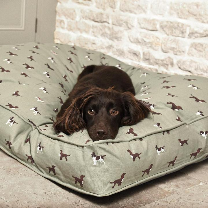 Sophie Allport Spaniels Dog Bed Mattress - Duck Barn Interiors