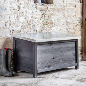 Moreton Outdoor Storage Box- Small or Large - Duck Barn Interiors