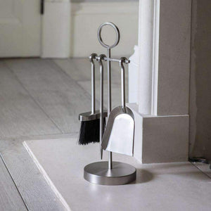 Paxford Fireside Tool Set- Silver - Duck Barn Interiors