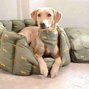 Sophie Allport Large Fab Labs Pet Bed - Duck Barn Interiors