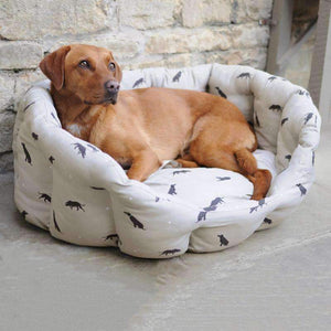 Sophie Allport Large Labrador Pet Bed-Duck Barn Interiors
