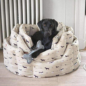 Sophie Allport Woof Pet Bed (4 Sizes) - Duck Barn Interiors