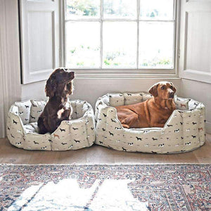 Sophie Allport Woof Pet Bed (Various Sizes) - Duck Barn Interiors
