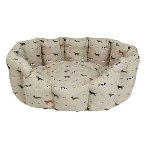 Sophie Allport Woof Pet Bed-Large-Duck Barn Interiors
