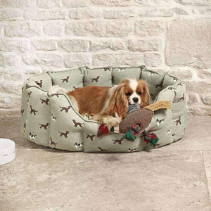 Spaniels Pet Bed - Duck Barn Interiors