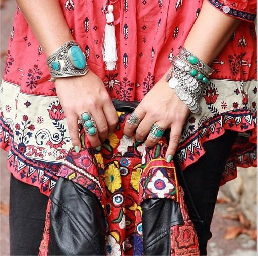 Bohemian  Fashion Inspiration-Great Boho Looks