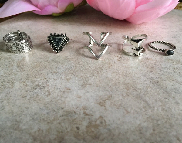 What's Trending-Boho Ring Sets