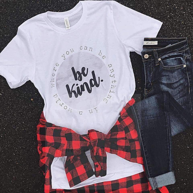 Be Kind Graphic Tee, Top, H. Hippie, Bohemian Bangles