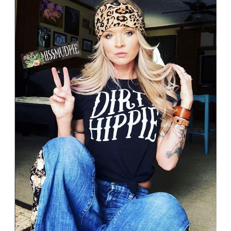 Dirty Hippie Graphic Tee, Top, Miss Mudpie, Bohemian Bangles