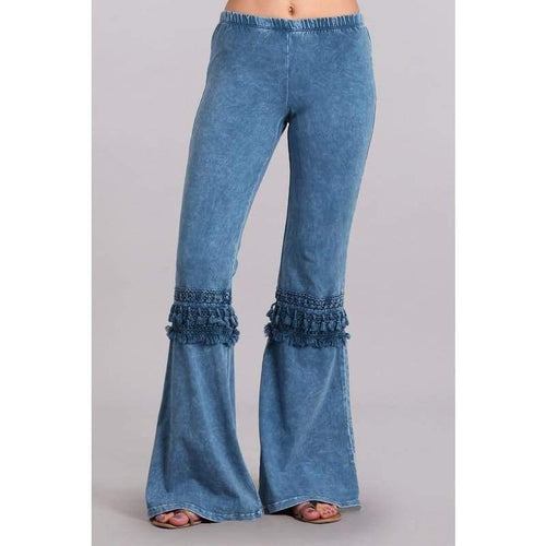 In The Groove Tassel Fringe Bell Bottoms, Bottoms, Chaytoyant, Bohemian Bangles