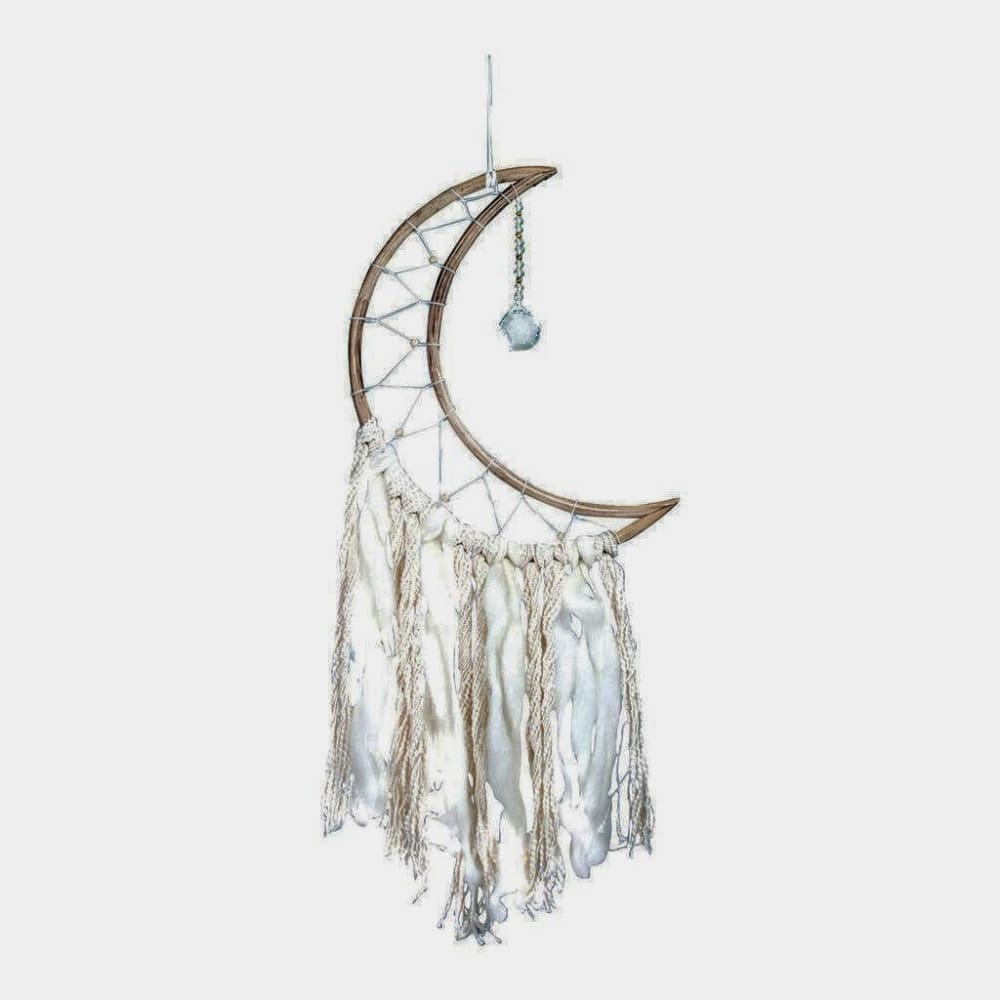 Small Moon Handmade Dream Catcher - Dreamcatcher - boho-bangles