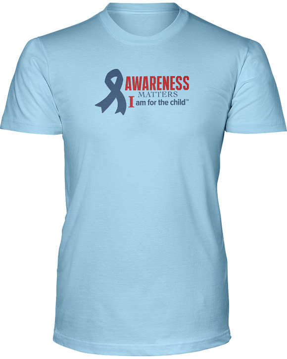 Awareness Matters Unisex Short Sleeve Tees - Colors