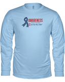 Awareness Matters Unisex Long Sleeve Tees - Colors
