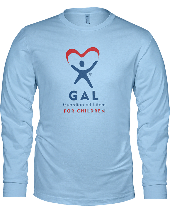 GAL Logo Unisex Long Sleeve Tees - Colors