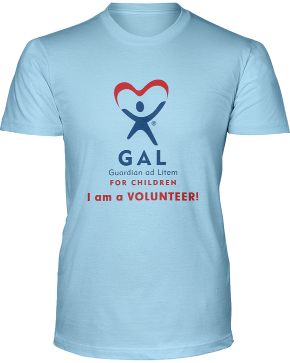 GAL I am a Volunteer Unisex Short Sleeve Tees - Colors