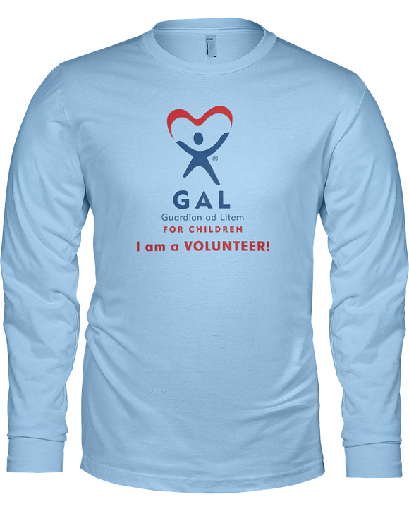 GAL I am a Volunteer Unisex Long Sleeve Tees - Colors