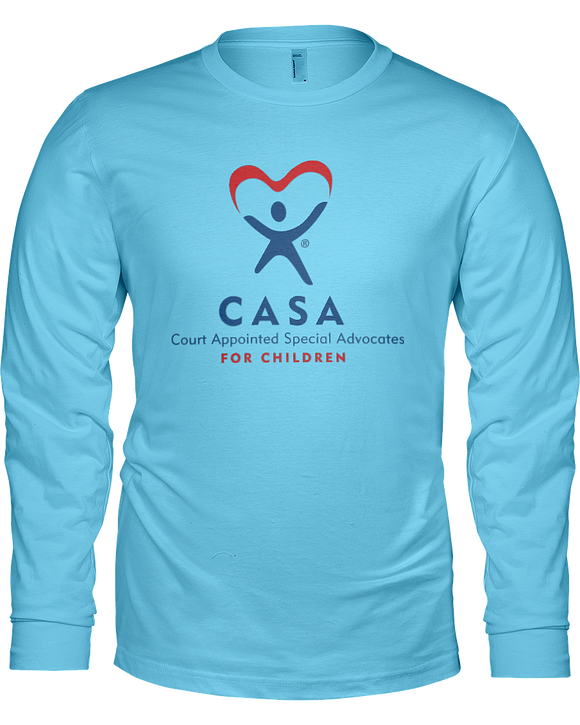 CASA Logo Ladies Long Sleeve Tees - Colors