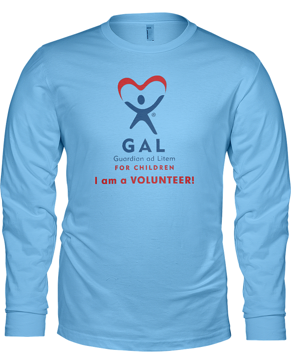 GAL I am a Volunteer Ladies Long Sleeve Tees - Colors