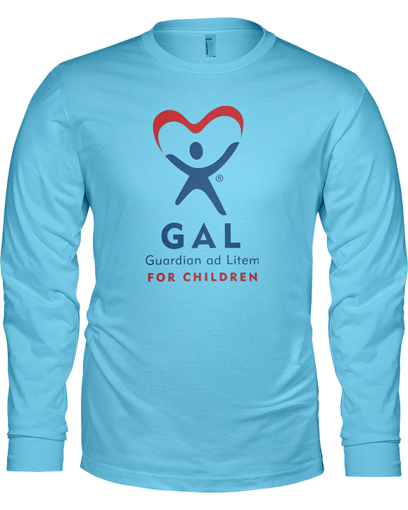 GAL Logo Ladies Long Sleeve Tees - Colors