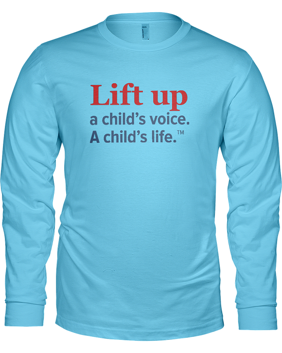 Lift Up a Child's Voice, I Child's LifeLadies Long Sleeve Tees - Colors