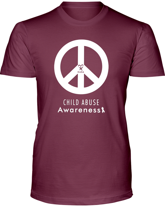 Peace Awareness Unisex Short Sleeve T-Shirt - DARK COLORS