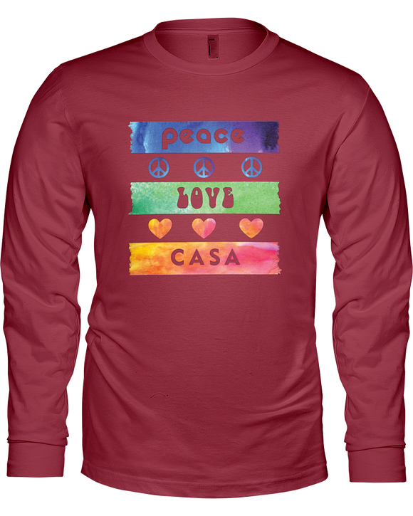 Splash Peace Love CASA Ladies Long Sleeve - Colors