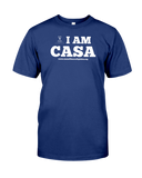 CASA OF THE SOUTH PLAINS / I AM CASA - UNISEX T - MIDNIGHT NAVY